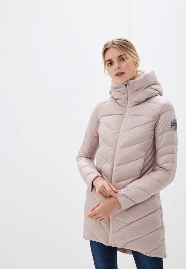 женская куртка merrell, бежевая