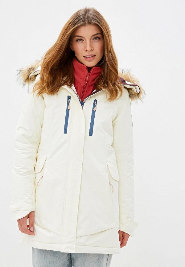 женская куртка merrell, белая