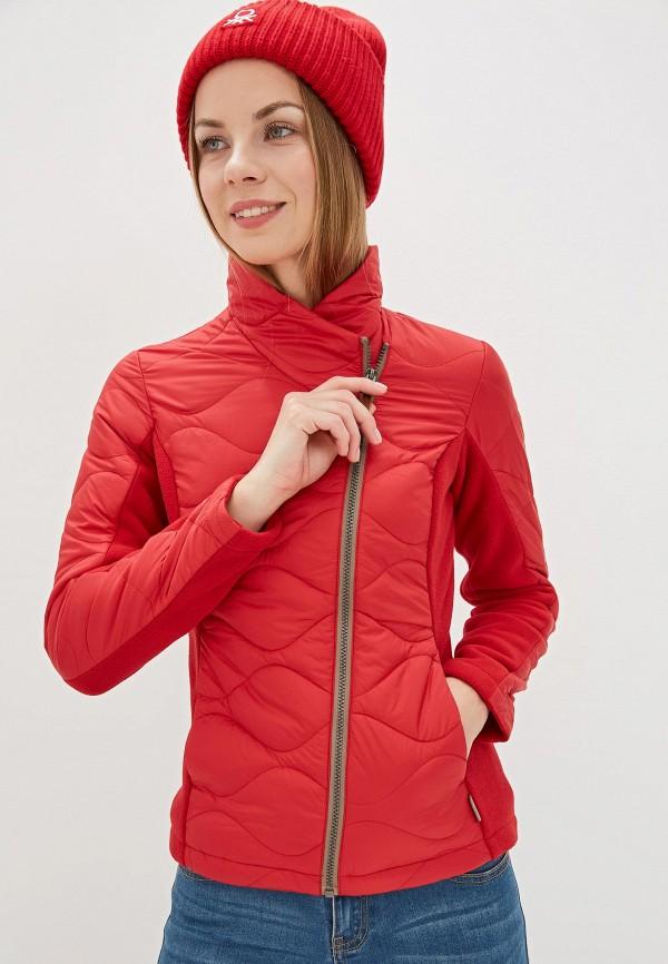 женская куртка merrell, красная