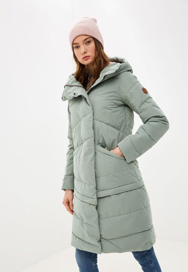 женская куртка merrell, зеленая