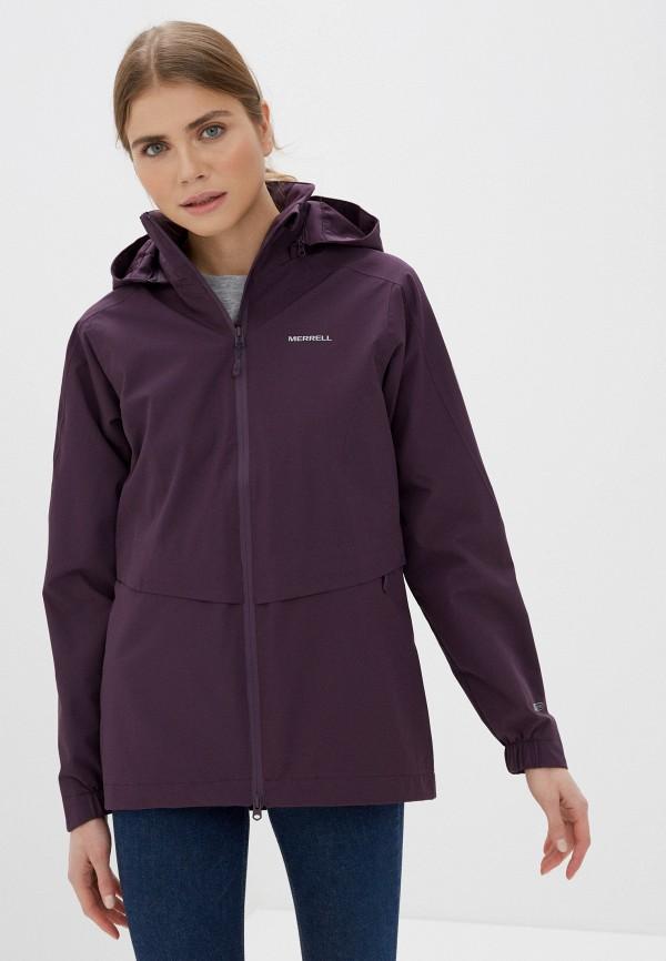 женская ветровка merrell, фиолетовая
