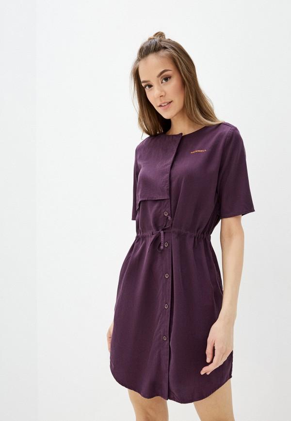 женское спортивные платье merrell, фиолетовое