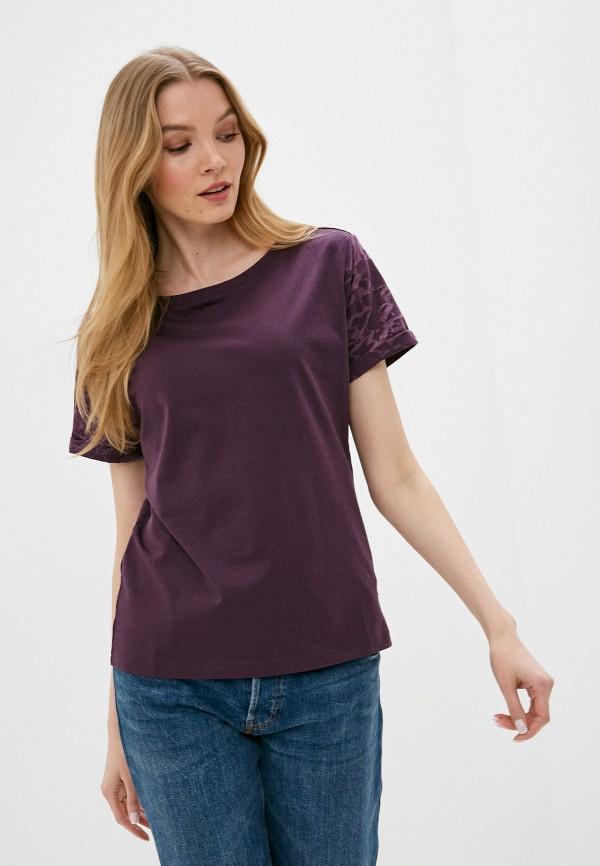 женская спортивные футболка merrell, фиолетовая