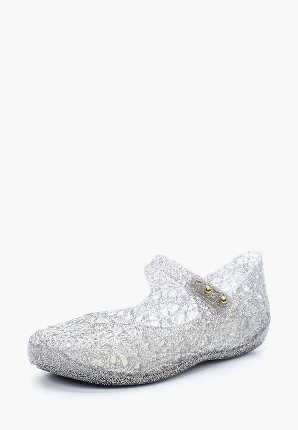 Купить Туфли Melissa, ME485AGAJWZ6, серебряный, Весна-лето 2018