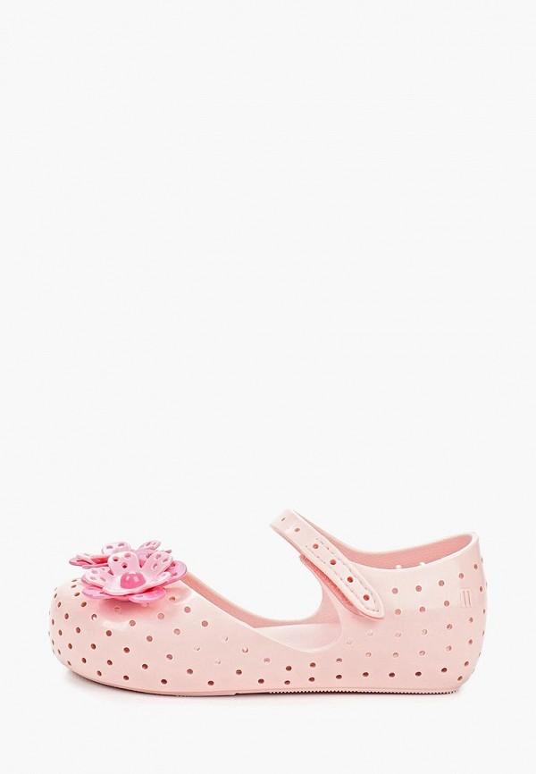 туфли melissa для девочки, розовые