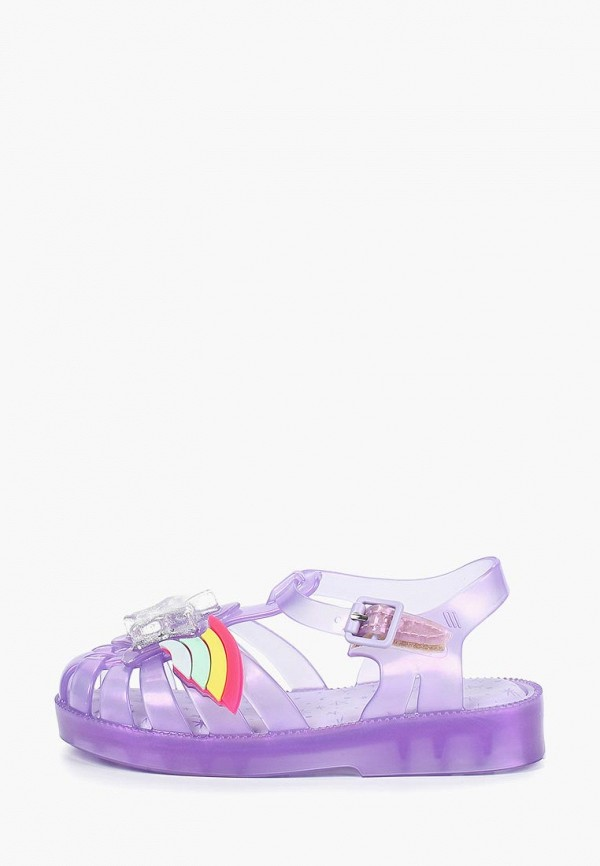 сандалии melissa для девочки, фиолетовые