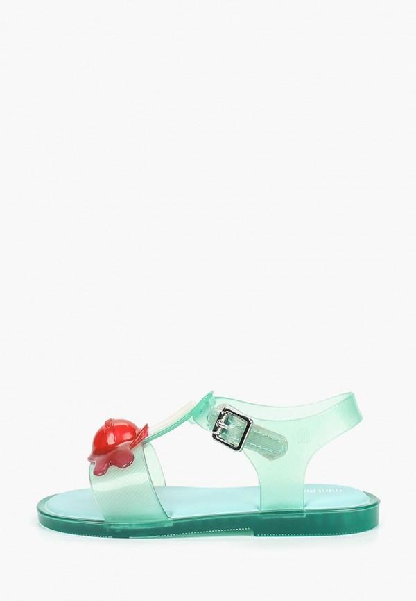 сандалии melissa для девочки, бирюзовые
