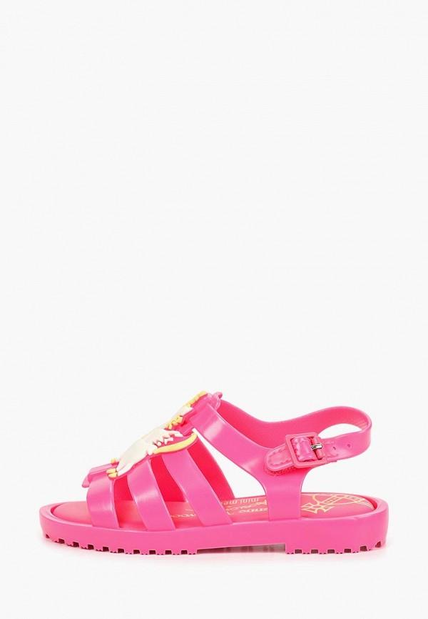 сандалии melissa для девочки, розовые