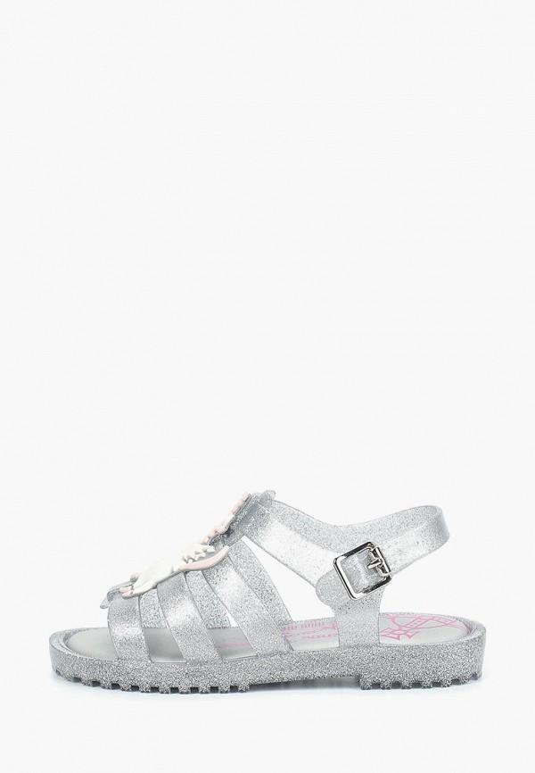 сандалии melissa для девочки, серебряные