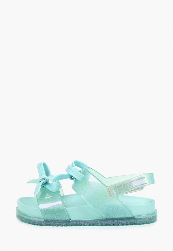 сандалии melissa для девочки, голубые