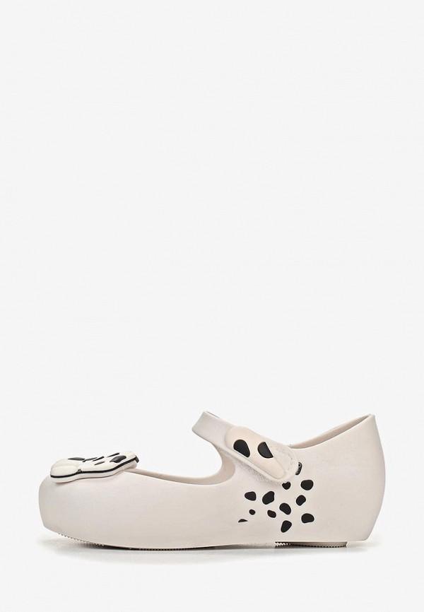 сандалии melissa для девочки, белые
