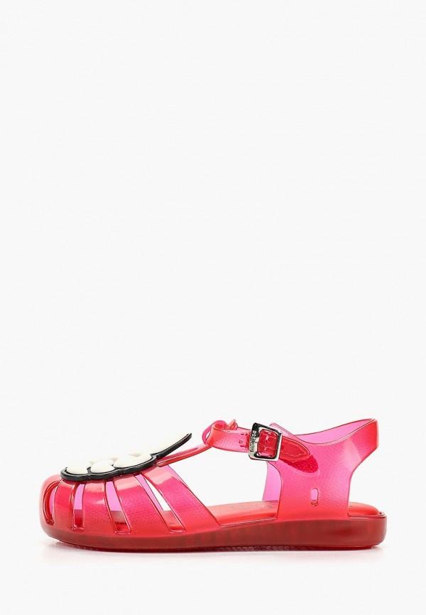 сандалии melissa для девочки, красные