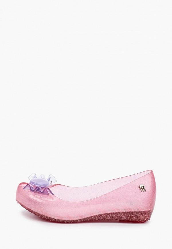 балетки melissa для девочки, розовые