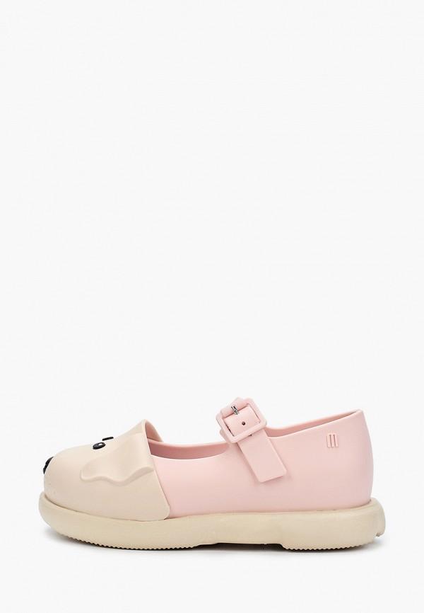 туфли melissa для девочки, бежевые