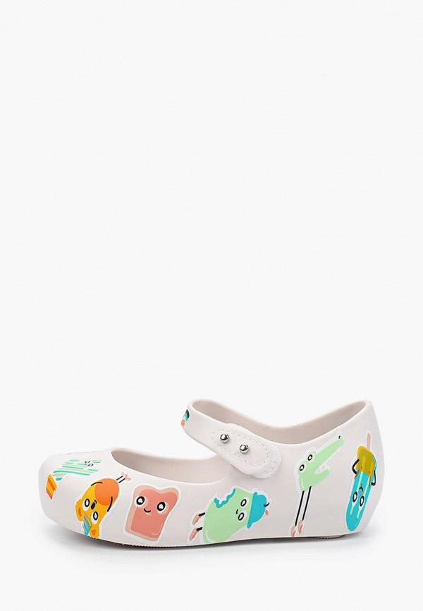 туфли melissa для девочки, белые