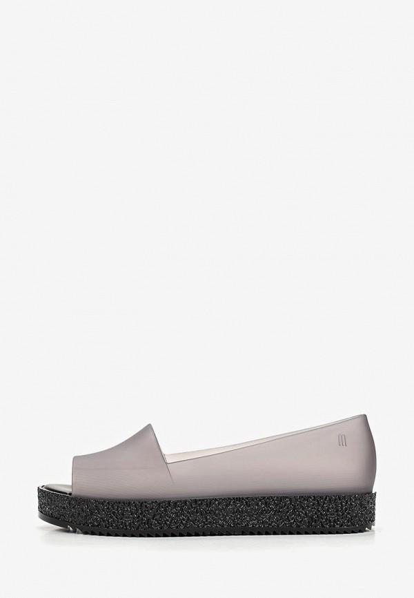 женские туфли melissa, серые