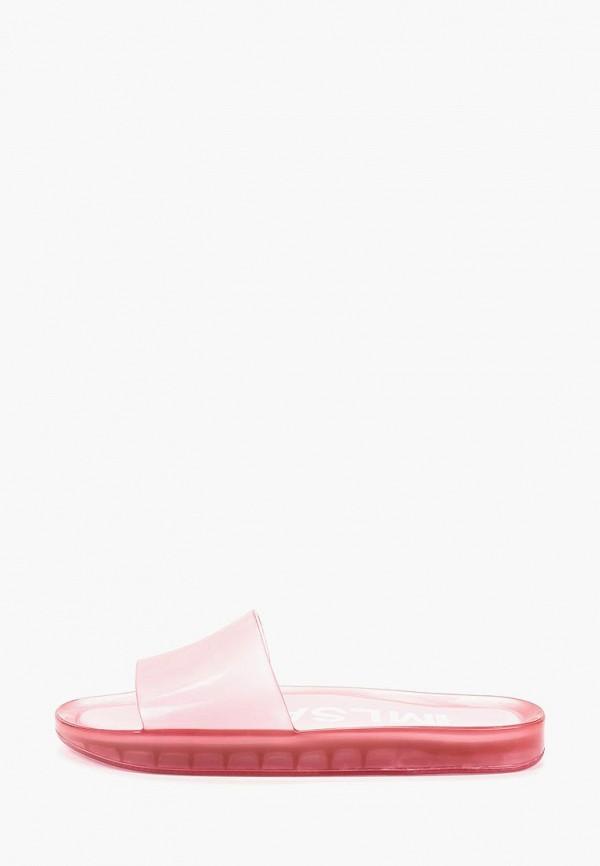 женское сабо melissa, розовое