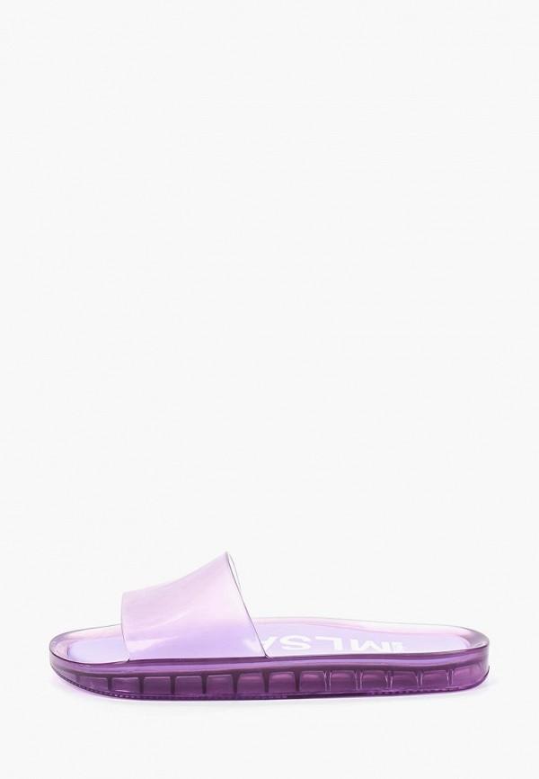 женское сабо melissa, фиолетовое