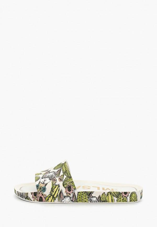 женское сабо melissa, разноцветное