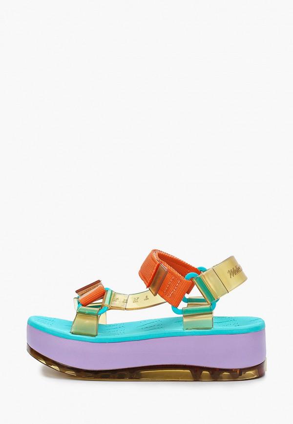 женские сандалии melissa, разноцветные