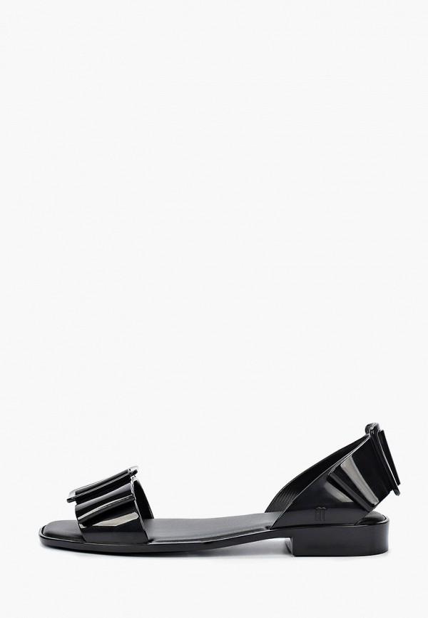 женские сандалии melissa, черные
