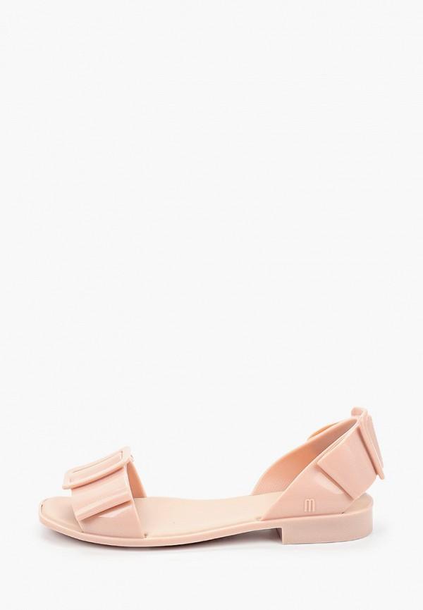женские сандалии melissa, розовые