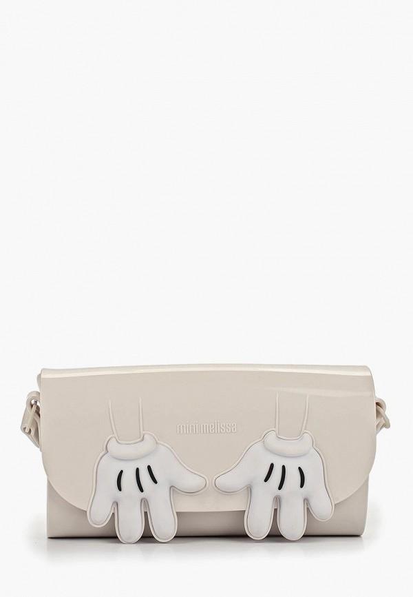 женская сумка melissa, белая