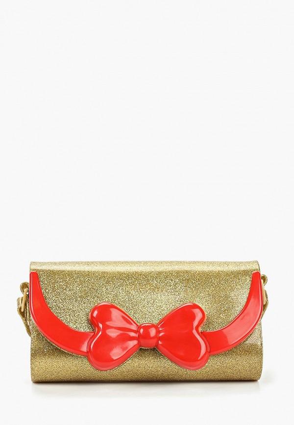 женская сумка melissa, золотая