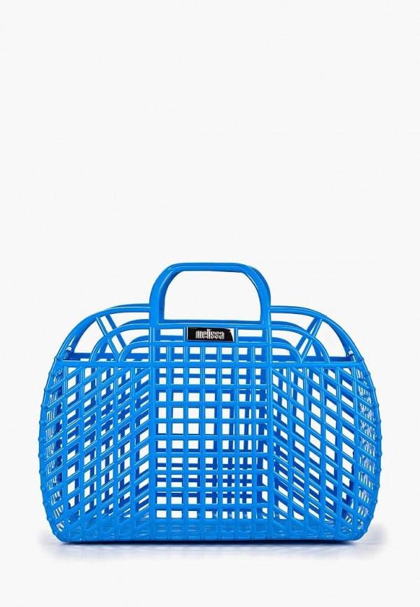 женская сумка melissa, синяя