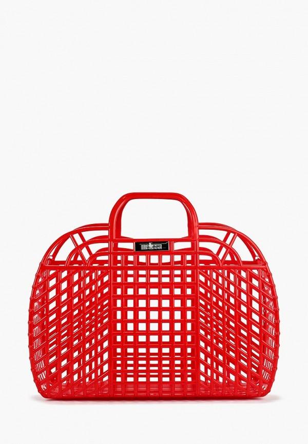 женская сумка melissa, красная