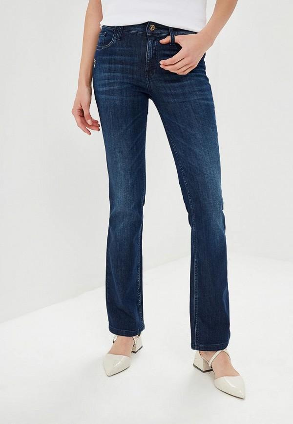 женские джинсы клеш met, синие