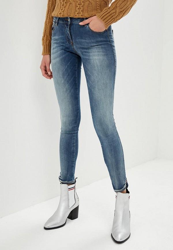 женские джинсы met, синие