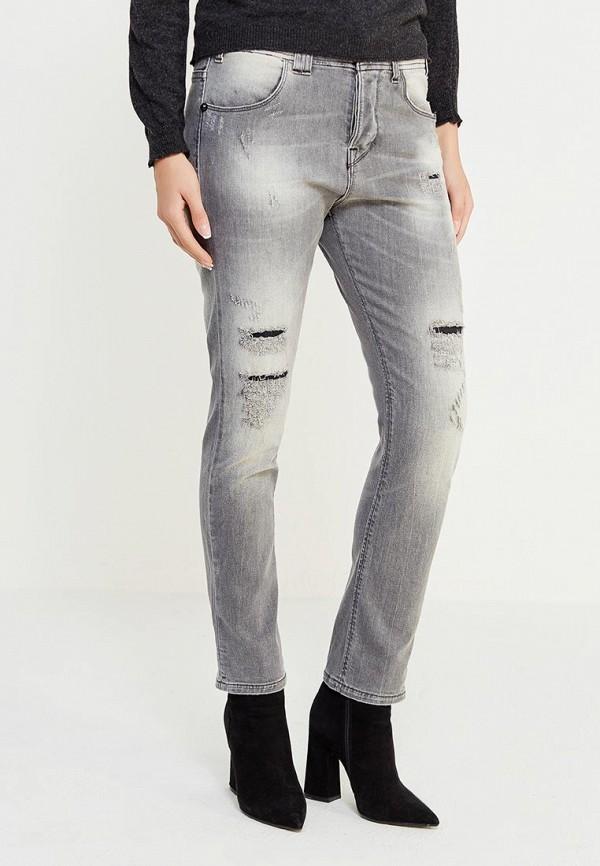 женские джинсы met, серые
