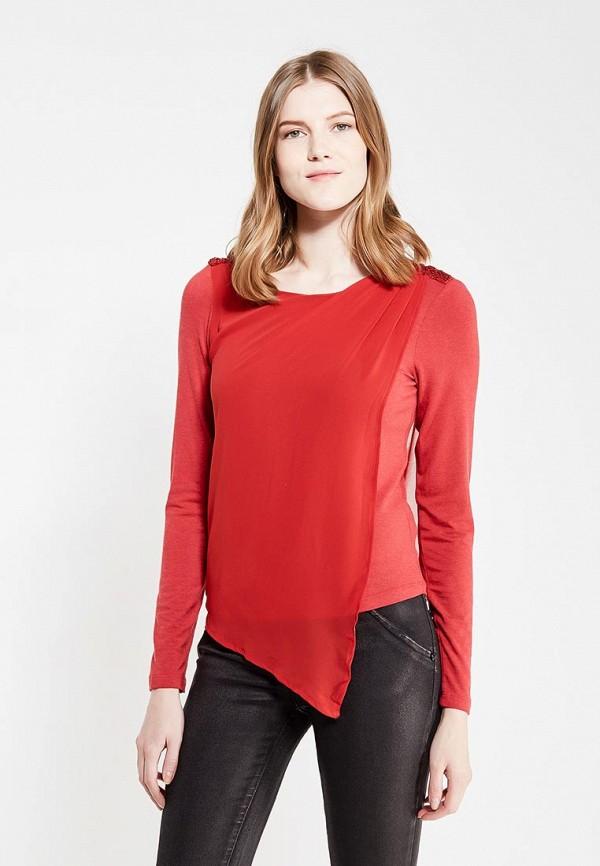 женская блузка met, красная