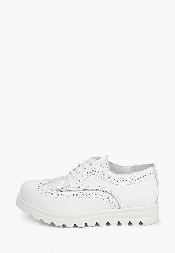 ботинки melania для девочки, белые