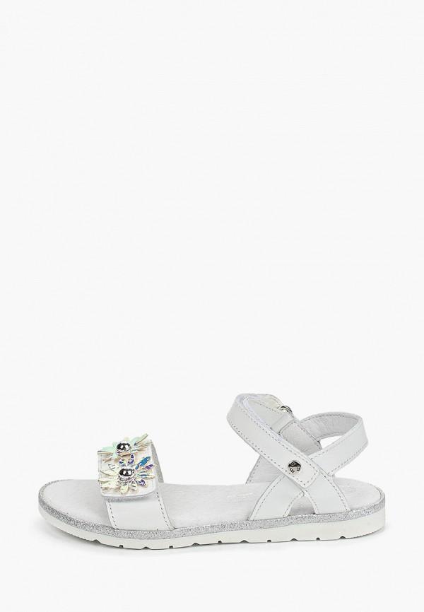 сандалии melania для девочки, белые