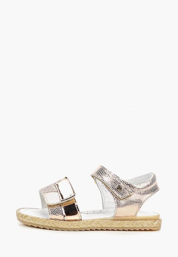 сандалии melania для девочки, золотые