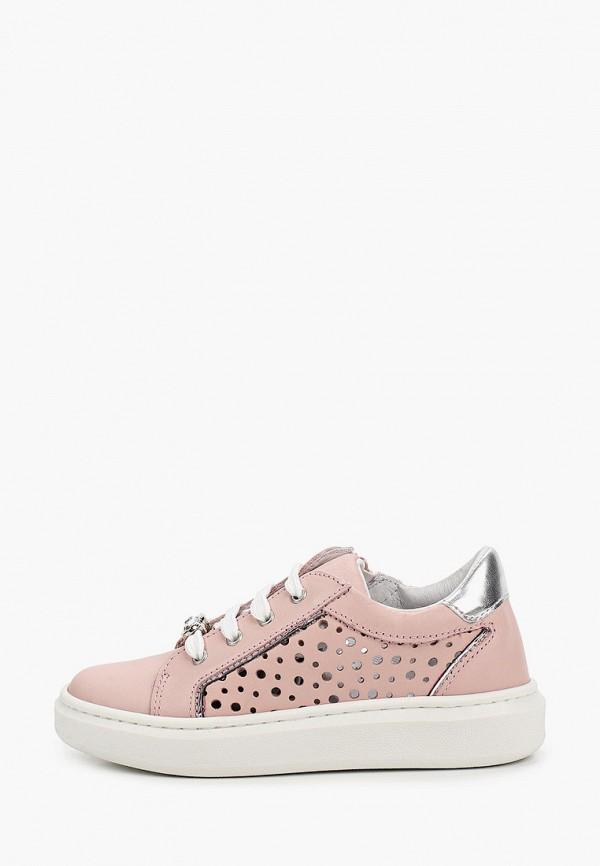 кеды melania для девочки, розовые