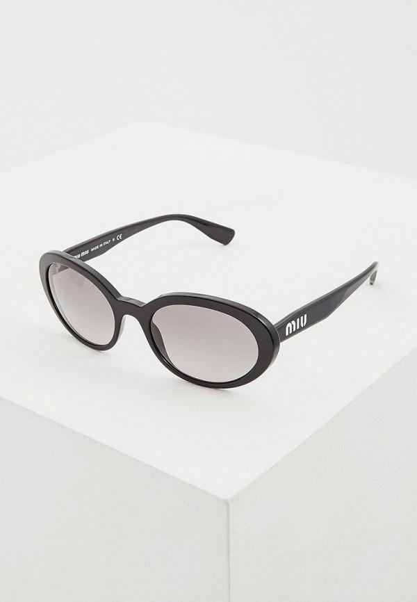 Очки солнцезащитные Miu Miu Miu Miu MI007DWDBOF3 miu miu черный шерстяной кардиган