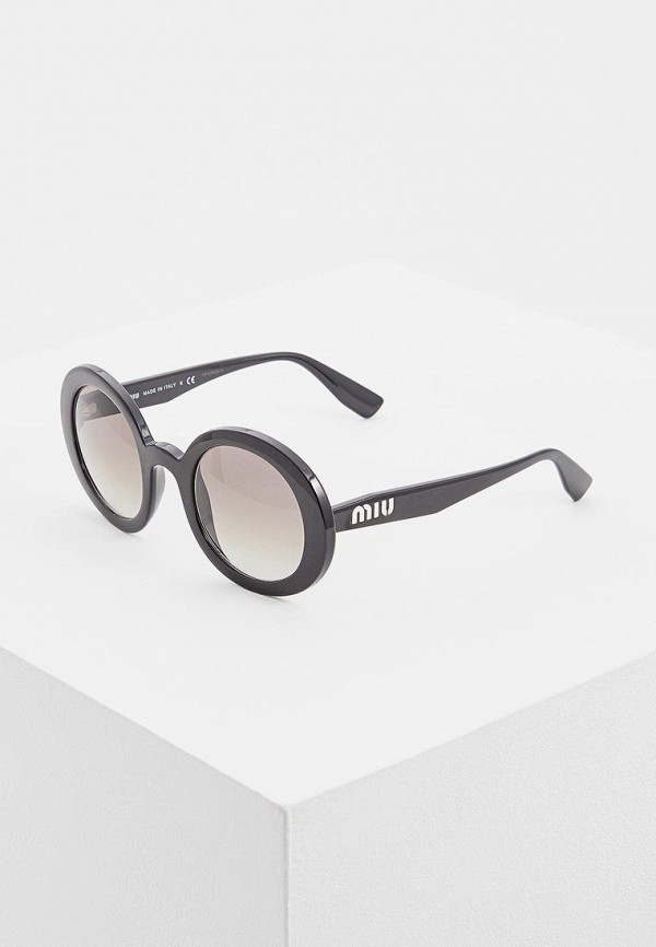 цена Очки солнцезащитные Miu Miu Miu Miu MI007DWDBOG0 онлайн в 2017 году