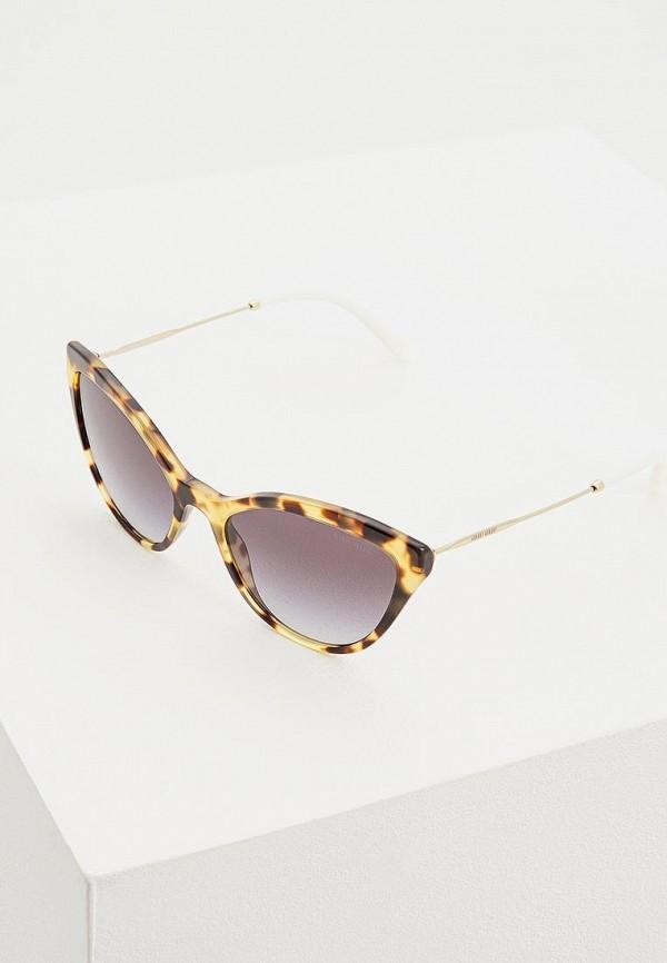Очки солнцезащитные Miu Miu Miu Miu MI007DWDBOG4 очки солнцезащитные miu miu miu miu mi007dwzaw70