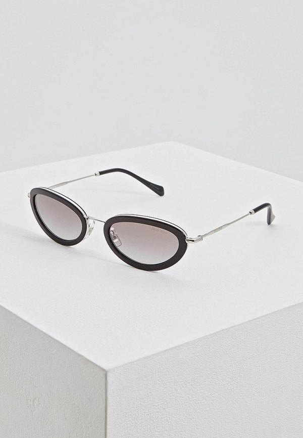 Очки солнцезащитные Miu Miu Miu Miu MI007DWEMYY6 очки солнцезащитные miu miu miu miu mi007dwozv70