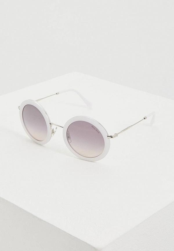 Очки солнцезащитные Miu Miu Miu Miu MI007DWEMYY8 очки солнцезащитные miu miu miu miu mi007dwzaw70