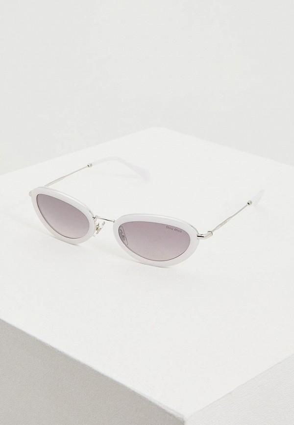 Очки солнцезащитные Miu Miu Miu Miu MI007DWEMYZ4 очки солнцезащитные miu miu miu miu mi007dwdboe7