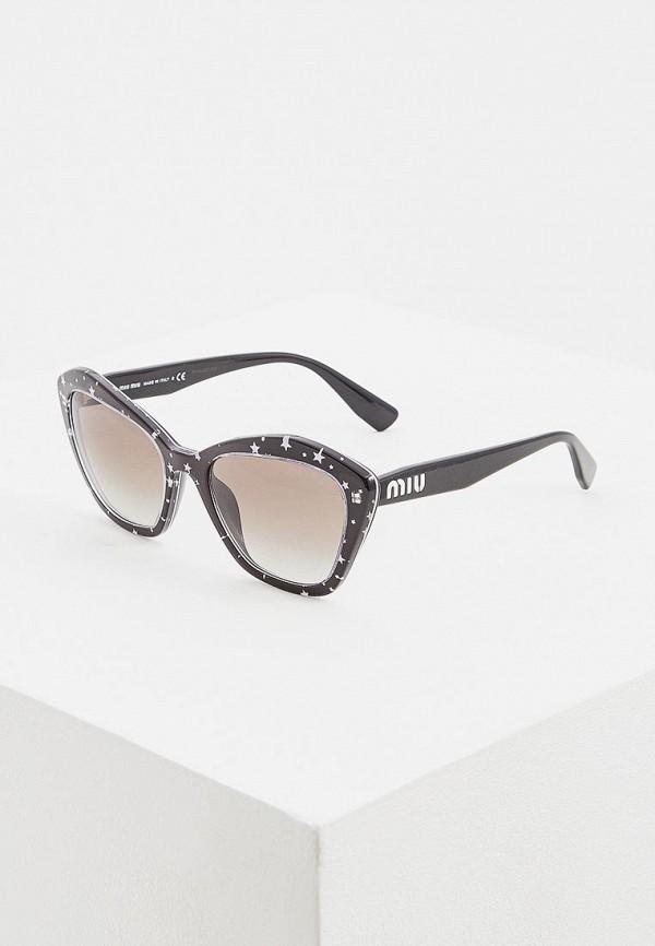 цена Очки солнцезащитные Miu Miu Miu Miu MI007DWEMYZ6 онлайн в 2017 году