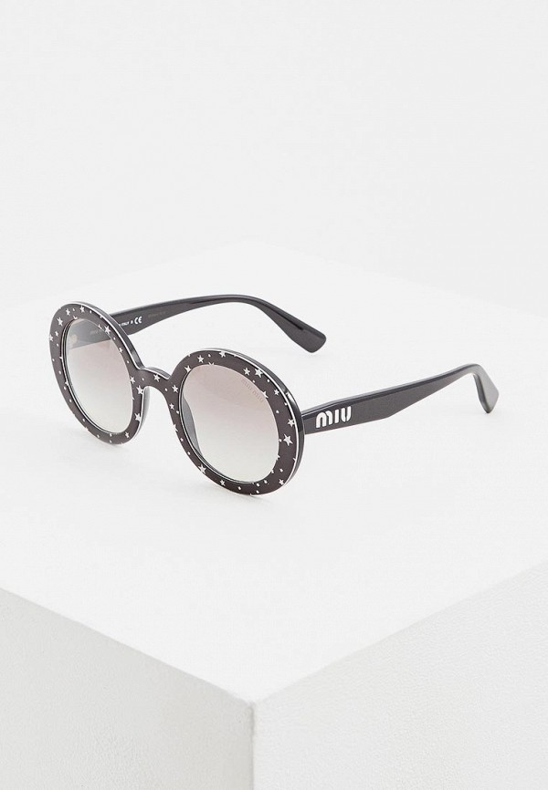 Очки солнцезащитные Miu Miu Miu Miu MI007DWEMYZ7 очки солнцезащитные miu miu miu miu mi007dwatbb0