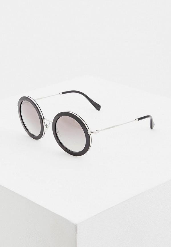 Очки солнцезащитные Miu Miu Miu Miu MI007DWEMZB0 очки солнцезащитные miu miu miu miu mi007dwdboe7