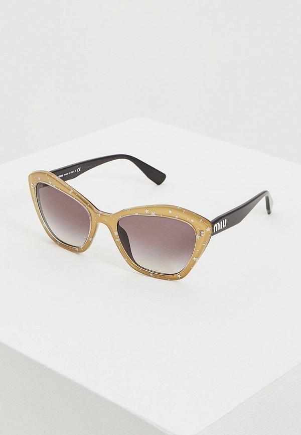 Очки солнцезащитные Miu Miu Miu Miu MI007DWEMZC1 очки солнцезащитные miu miu miu miu mi007dwzaw70