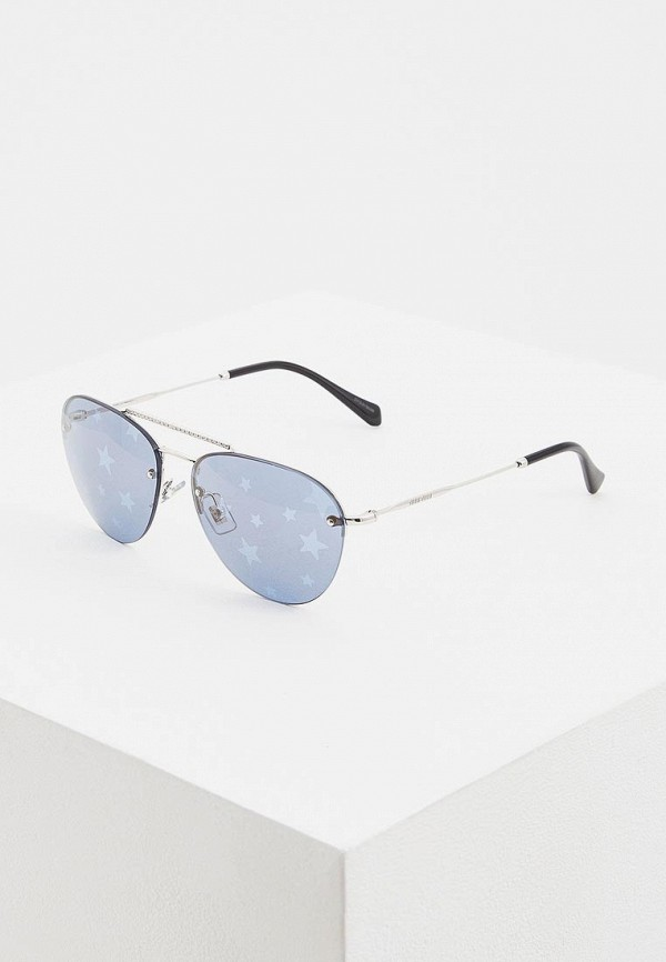 Очки солнцезащитные Miu Miu Miu Miu MI007DWEMZC5 очки солнцезащитные miu miu miu miu mi007dwozv70
