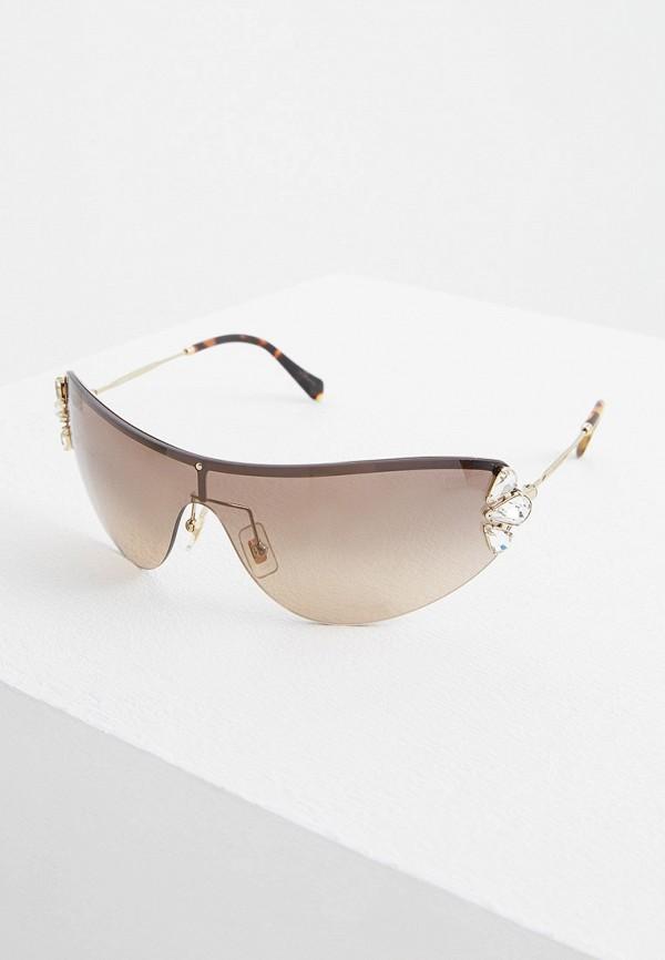 Очки солнцезащитные Miu Miu Miu Miu MI007DWFTTF3 очки солнцезащитные miu miu miu miu mi007dwinf02